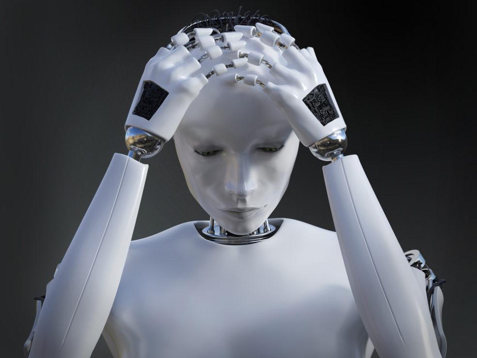 robots depressief
