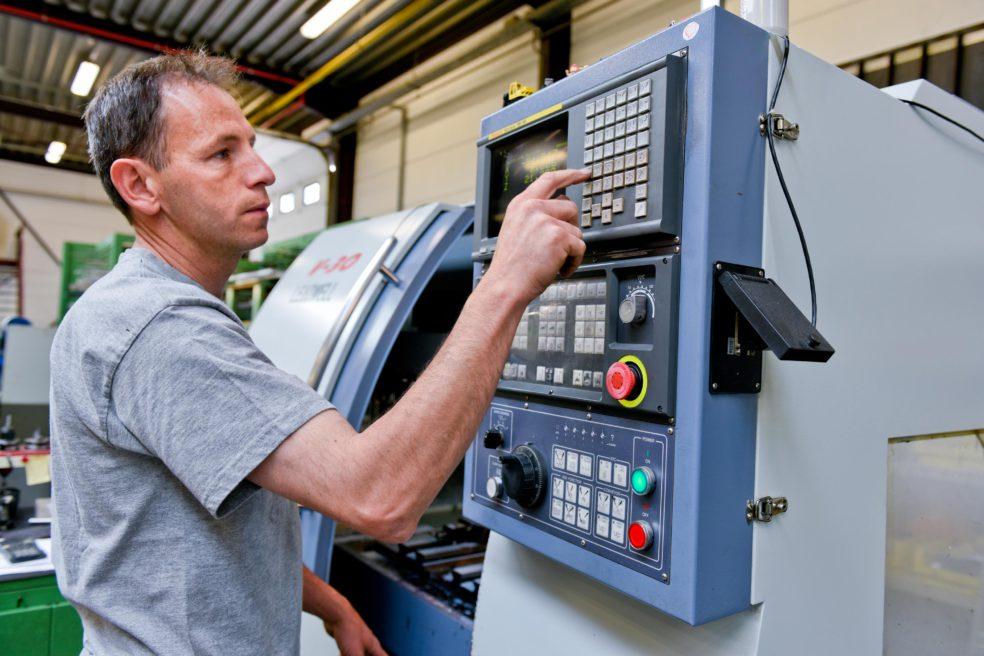 CNC-frezer Pascal Daenen over de bouw van een machine.