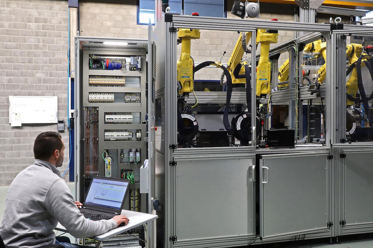 Werken bij een machnebouwer: automation engineer